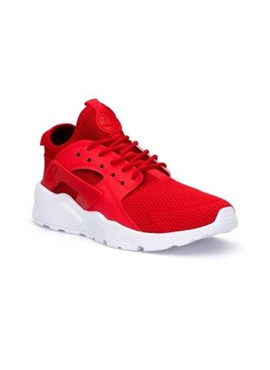 Dark Sneakers Kırmızı